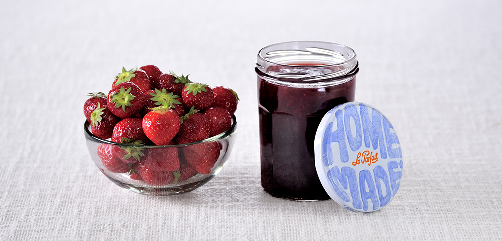 confiture de fraise le parfait