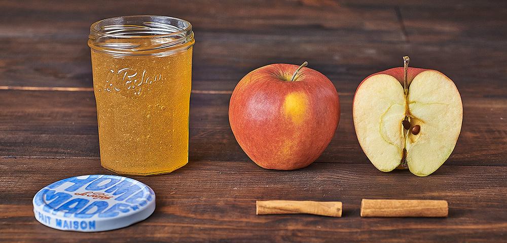 recette gel e pomme cannelle conserve confiture pomme cannelle le parfait. Black Bedroom Furniture Sets. Home Design Ideas