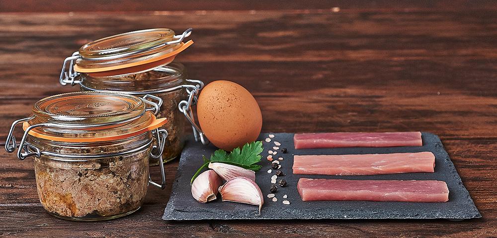 recette terrine de porc le parfait