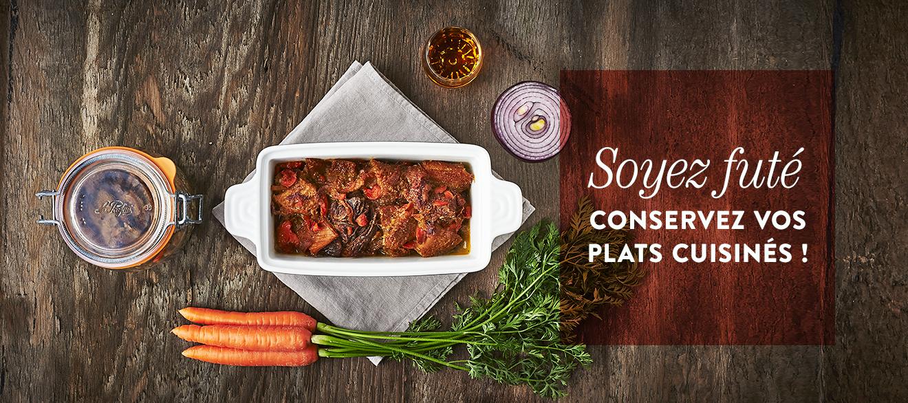 Recettes conserves plats cuisin s - Sterilisation plats cuisines bocaux ...