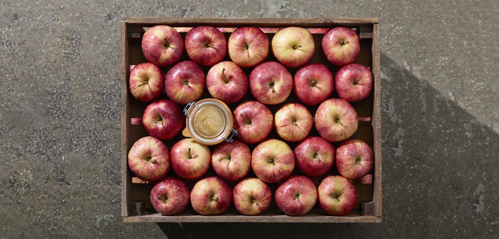 recette compote de pommes en conserve le parfait. Black Bedroom Furniture Sets. Home Design Ideas
